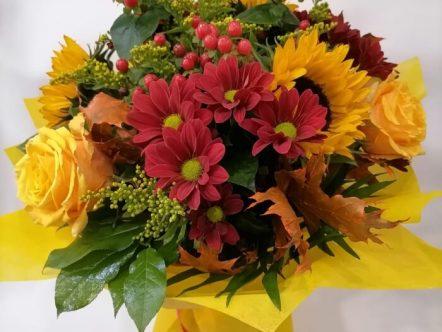buchet flori 108