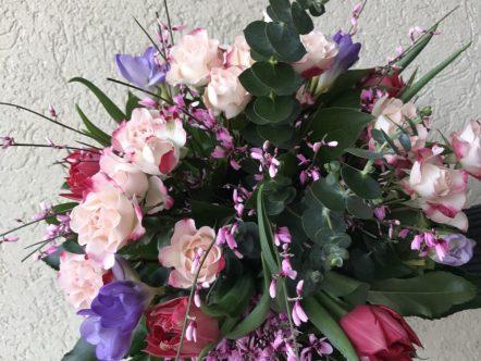 buchet flori 60