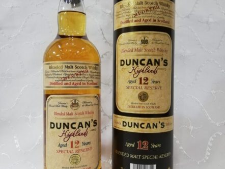 WHISKY DUNCAN'S 12 YEAR