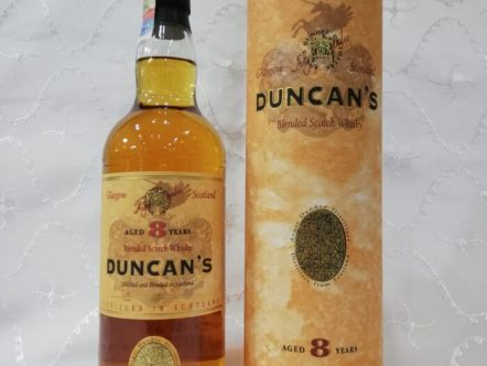 WHISKY DUNCAN'S 8 YEAR
